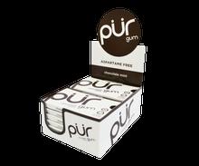 Pur Aspartame Free Gum 12 Pack box - Various Flavours - Chocolate Mint | PCI-1000-002 | 830028001471