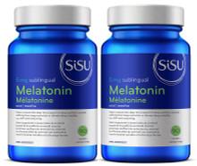 Sisu Melatonin 5mg Duo 90+90 Sublingual Tablets | 777672018816