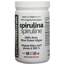 Prairie Naturals Organic Spirulina Powder 400 Grams | 067953004455