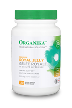 Organika Premium Royal Jelly 500mg 120 Softgel Capsules | 620365023034