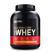 Optimum Nutrition Gold Standard 100% Whey Protein Banana Cream 5lbs   748927055788