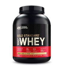 Optimum Nutrition Gold Standard 100% Whey Protein French Vanilla Creme 5lbs   748927024128