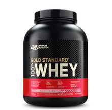 Optimum Nutrition Gold Standard 100% Whey Protein Delicious Strawberry 5lbs | 748927028690