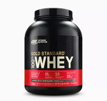 Optimum Nutrition Gold Standard 100% Whey Protein Double Rich Chocolate 5lbs   748927052435