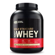 Optimum Nutrition Gold Standard 100% Whey Protein Vanilla Ice Cream 5lbs | 748927054545