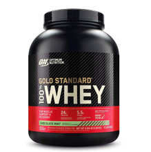Optimum Nutrition Gold Standard 100% Whey Protein Chocolate Mint 5lbs   748927028676