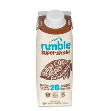 Rumble Supershake Drink Dutch Cocoa | 834642000155
