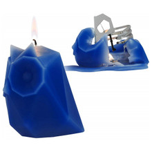 54 Celsius PyroPet Skeleton Candle Ugla (Owl) Electric Blue | 857316001371