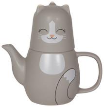 Now Designs Pekoe Cat Tea For Me Set | 064180260586