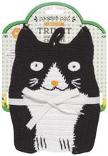 Now Designs Crochet Trivet - Cooper Cat | 064180245415