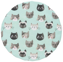 Now Designs Cats Meow Bowl Covers Set of 2 | 064180241059