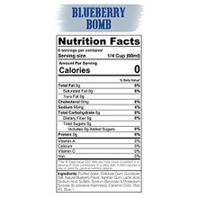 Sinister Labs SINFIT sugar free Blueberry Syrup 355mL | Nutrition | 853698007499
