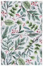 Now Designs Bough & Berry Printed Tablecloth 60 x 60 inch   64180275641