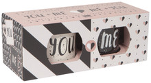 Now Designs You & Me Diner Mug Set of 2 | 64180268407