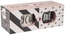Now Designs You & Me Diner Mug Set of 2 | 064180268407