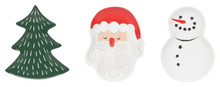 Now Designs Must Be Santa Shaped Dish Set of 3 | 64180275917