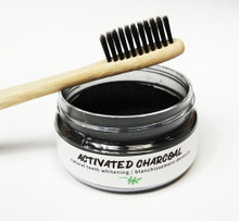 Naturally Vain Activated Charcoal Teeth Whitening (With Tooth Brush) 50g