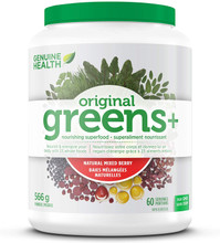 Genuine Health Greens+ Original Powder Natural Mixed Berry 566g | 624777000263