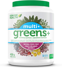 Genuine Health Greens+ Multi+ Natural Mixed Fruit 459g | 624777000768