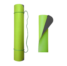 Relaxus Eco Yoga Mats - Cool Grey / Lime | 709426 | 628949094265