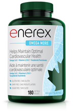 Enerex Omega More 180 softgels | 628557101805