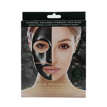 Relaxus Spa Charcoal Collagen Hydrogel Face Mask    REL-505448