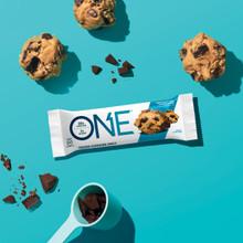 One Bars Chocolate Chip Cookie Dough 60g x 12 Bars box | 788434108829