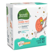 Seventh Generation Free & Clear Training Pants - 3T-4T 22 count | 732913440573