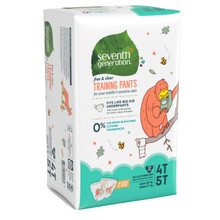 Seventh Generation Free & Clear Training Pants - 4T-5T 17 count | 732913440580