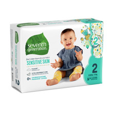 Seventh Generation Free & Clear Baby Diapers - Size Two 36 count | 732913440610