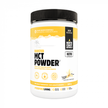 North Coast Naturals Boosted MCT Powder 300g Vanilla | 627933100319