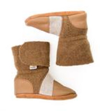 Nooks Design Booties Brown with Tweed | 	628110356352 | 628110356369