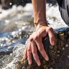 4Ocean Leatherbacks Kale Green Bracelet   854600008269
