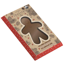 Galerie Au Chocolat Gingerbread Man 80g- White Chocolate | 063783703100