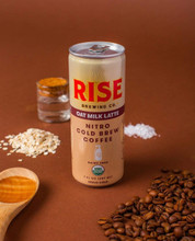 Rise Brewing Co. Nitro Cold Brew Coffee - Oat Milk Latte 207 ml | 868235000444