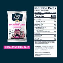 Lesser Evil Grain Free Egg White Curls - Himalayan Pink Salt 113 g | 855611008699