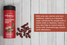 Mberry Freeze Dried Miracle Fruit Berries 1 Can - 25 count |
