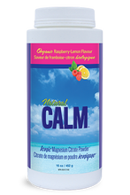 Natural Calm Ionic Magnesium Citrate Powder Organic Raspberry-Lemon Flavour 16 oz | 871469000111