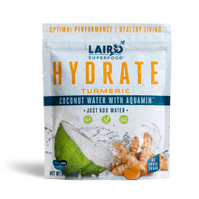 Laird Superfood Hydrate Coconut Water with Aquamin 227g - Turmeric | 855694006612