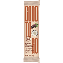 Good To Go Cocoa Coconut Keto Bars 9 x 40 g Box | 687456113197