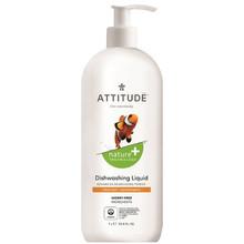 Attitude Nature+ Dishwashing Liquid Citrus Zest 1L |