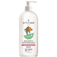 Attitude Nature+ Baby Bottle Dishwashing Liquid 1 L | 626232131895