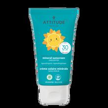 Attitude Little Ones 100% Mineral Sunscreen Fragrance Free SPF 30 150g | 626232160017