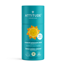 Attitude Baby & Kids Mineral Sunscreen Face Stick Unscented SPF 30 85 g | 626232160383