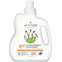Attitude Nature+ Laundry Detergent Citrus Zest 2 L (80 loads) |  626232120820