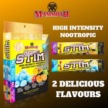 Mammoth Neuro Stim Fruit Punch/Clear Raspberry 8 Serve Box