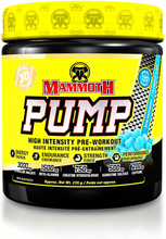 Mammoth Pump 270g (30 Serve) - Blue Raspberry | 625486103535