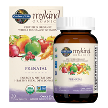 Garden of Life Mykind Organics Prenatal Once Daily 30 Vegan Tablets | 886866000084