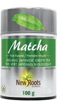 New Roots Herbal Matcha Organic Japanese Green Tea Powder 100g | 628747019071