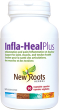 New Roots Herbal Infla-Heal Plus 90 Veg Capsules | 628747118293